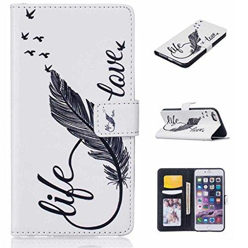 [해외]iPhone 6 / iPhone 6s 케이스, UNEXTATI PU 가죽 지갑 케이스, Apple iPhone6 ??/ iPhone6s 용 보호 커버 포함/iPhone 6 / iPhone 6s Case, UNEXTATI PU Leather Wallet Case with Protect Cover for Apple iPhone6 / iPhone6s