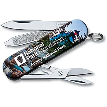 Victorinox Swiss Army Classic Sd Pocket Knife, Acadia National Park