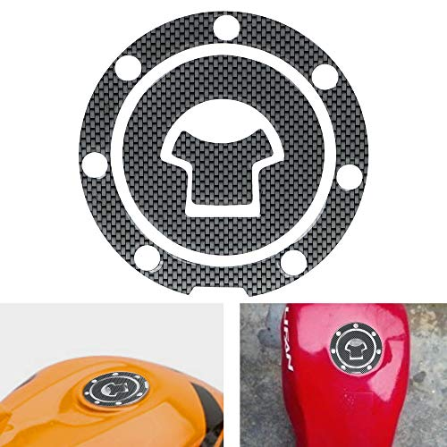 Motorcycle Sticker Motorbike Fuel Tank Protector Pad Cover Carbon Fiber Decal (Zx9r Carbon Fiber)
