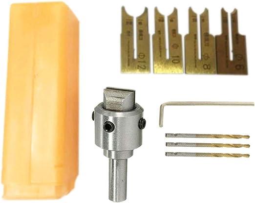 10//16pc Wood Bead Maker Beads Drill Bit Milling Cutter Set Kit Woodworking Tools
