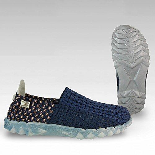 Dude Shoes Dude E-last, Inkas, Blau