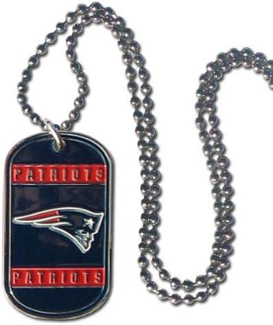 20 Siskiyou NFL New England Patriots Unisex Bottle Opener Tag Necklace