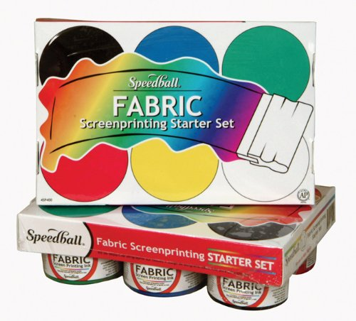 Speedball Fabric Screenprinting Ink Starter Set Ink Art Screen Printing