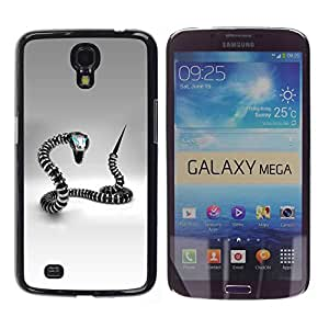 "For Samsung Galaxy Mega 6.3 , S-type Metal robot serpiente"" - Arte & diseño plástico duro Fundas Cover Cubre Hard Case Cover"