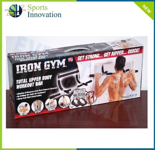 Iron Gym Upper Body Work Out Bar (As seen on SKY & Euro Sports)