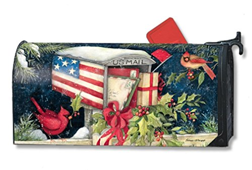 MailWraps Cristmas Cards Mailbox Cover 01041