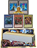 1000 Assorted Yugioh Cards! Featuring Yugioh 3 God Card Set! Plus Yu-gi-oh Limited Edition Playmat! Includes 2 Custom Golden Groundhog Token Counters!