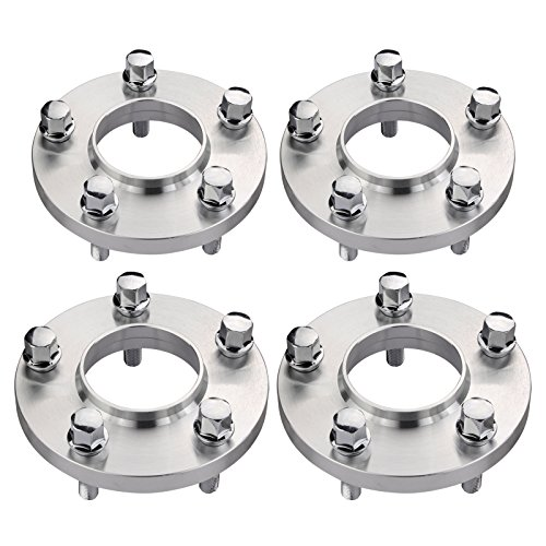 DCVAMOUS 5 Lug 5x120 Hubcentric Wheel Spacers 15mm with 12x1.5 Bolts for BMW 3 5 6 7 8 Series E23 E30 E32 E36 E46 E90 E91 E92 E93 M3(72.56mm Center Bore, 40mm Shank Cone Bolts) (4PC)