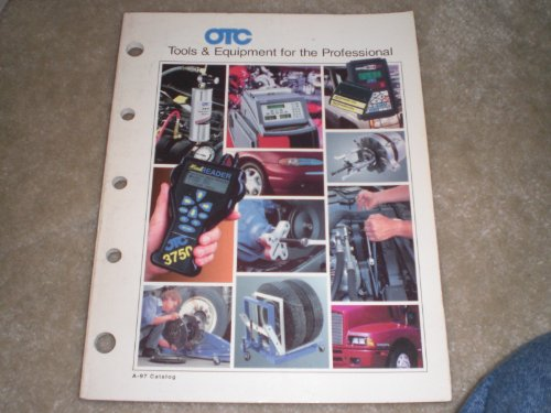 Otc Automotive Tools Catalog A-97