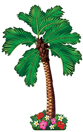 Amscan Jointed Palm Tree Party Cutout]()