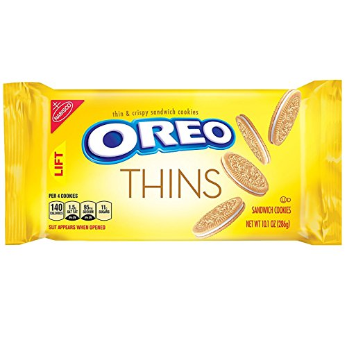 Oreo Thins Golden Sandwich Cookies 101Ounce Package