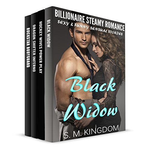 Black Widow Box Set 4-In-1 Romance Book -