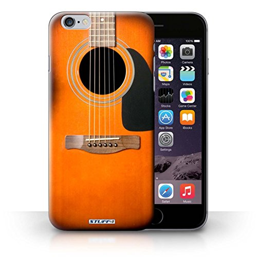 Hülle Case für iPhone 6+/Plus 5.5 / Sunburst Akustik Entwurf / Gitarre Collection