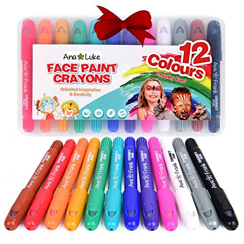 No-Mess Large Face Paint and Body Crayons for