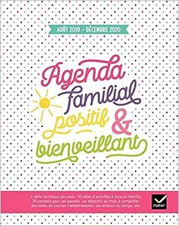 Agenda familial positif et bienveillant - Août 2019 à ...