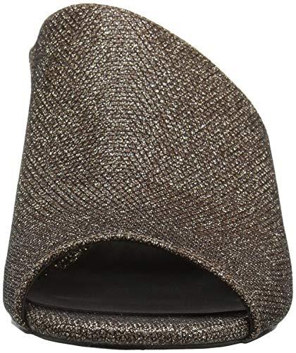 Black Slide Fabric Nine Sandal Women's Janissah West Natural qywRfv