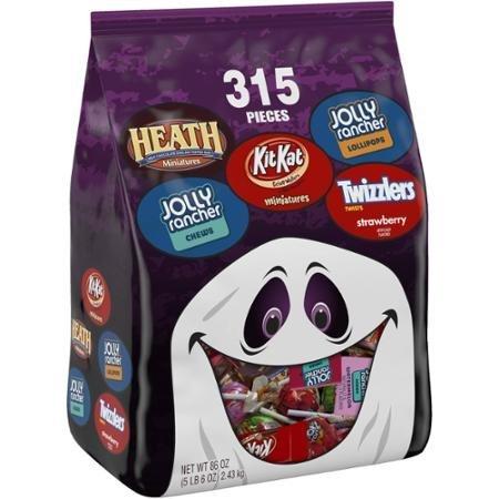 Hershey's Halloween Candy Assortment, Super Saver Size Package 315 count, 86 oz - Hershey Halloween Candy