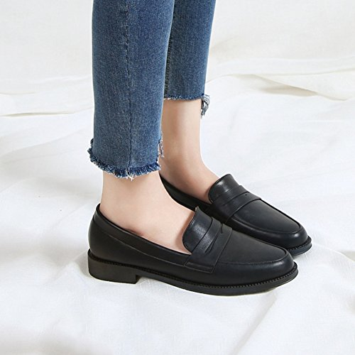 Chaussures automne à bout rond Casual femme HpLDS