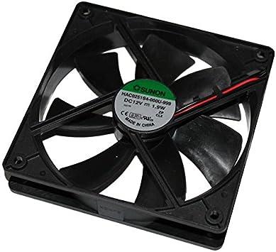 Fan / Ventilador 12V 1,9W 120x120x25mm 93,4m³/h 30dBA ; Sunon HAC0251S4-999