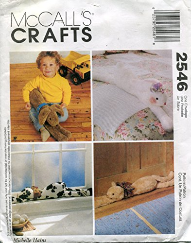 McCall's Crafts Pattern 2546 Lounge Around Pets by Michelle Hains
