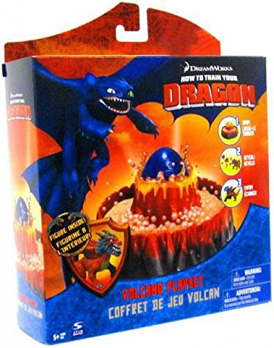 How To Train Your Dragon Movie Volcano Playset by DreamWorks