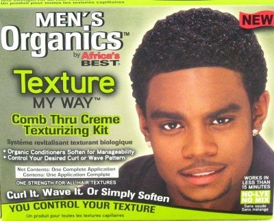 Amazon Com Africas Best Organic Texture My Way Kit For Men 3 Pack