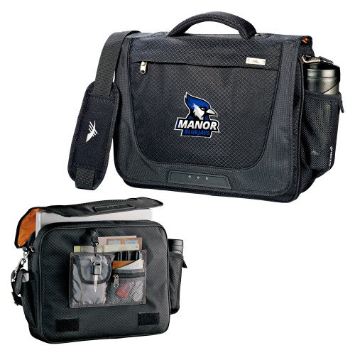 Manor High Sierra Black Upload Business Compu Case 'Primary Mark' by CollegeFanGear