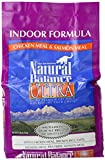 NATURAL BALANCE 236613 4-Pack Indoor Ultra Premium Dry Cat Food, 6-Pound