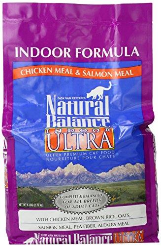 Natural Balance 236613 4-Pack Indoor Ultra Premium Dry Cat F