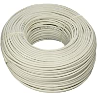 UPG 77591 23-Gauge Cat-6 Cable, 500, White Jacket