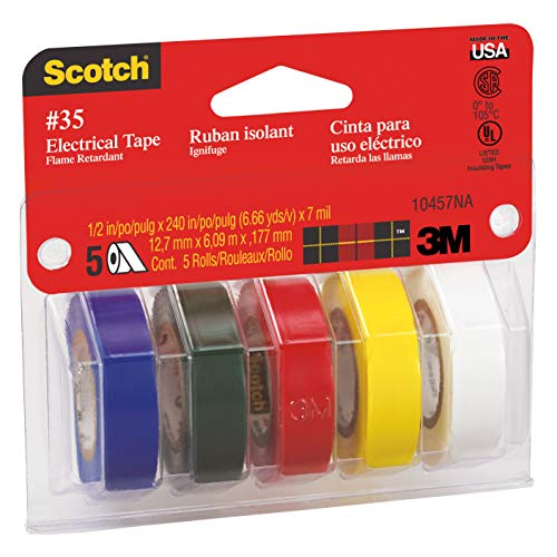 3M Scotch #35 Electrical Tape Value Pack - T Light Studio 1 Single