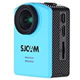 "Original SJCAM M20 4K Sports Action Camera 1.5"" Wifi Sport DV Camera NTK96660 4K@24fps 2K@30fps 1080P@60fps Sony IMX206 16MP Sensor Gyro 166?? adjustable FOV Waterproof Action Camera Diving 30M,Motorcycle Helmet Camera for Biking,Riding,Racing,Skiing,Motocross And Water Sports Blue Sold By DEVELOP"