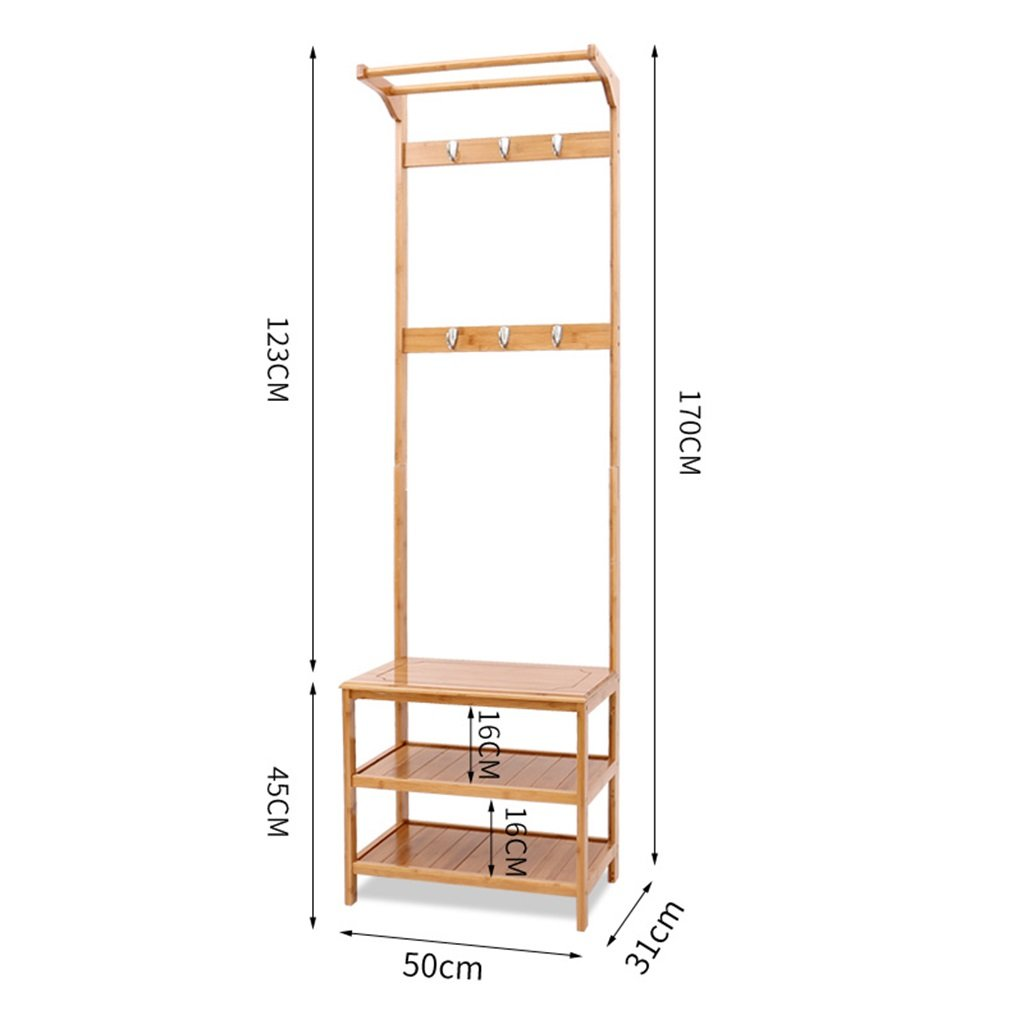 Amazon.com: XJRHB Coat Rack - Home Shoe Bench Living Room ...
