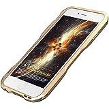 Apple 6 金属フレーム  iPhone 6/6S iPhone 6 plus/6S plusに対応 個性的メタルバンパーカバー ケース 金属製 耐衝撃 スリーム (iPhone 6/6S, ゴルード)