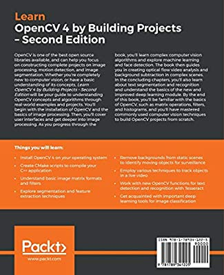 Amazon com: Learn OpenCV 4 by Building Projects: Build real