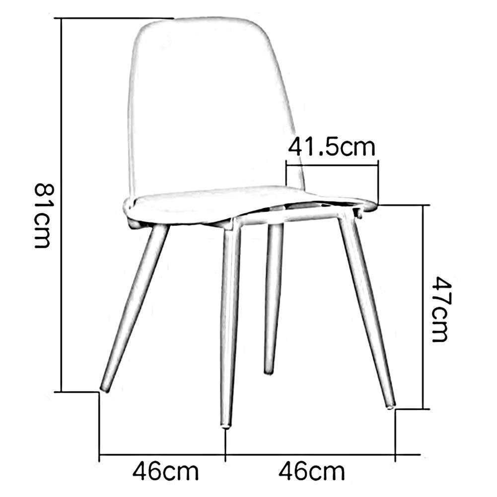 DBL moderna möbler kontor kök vardagsrum sovrum flerfärgad klart golvskydd vetenskaplig princip plast skrivbordsstolar (färg: vit) gUL