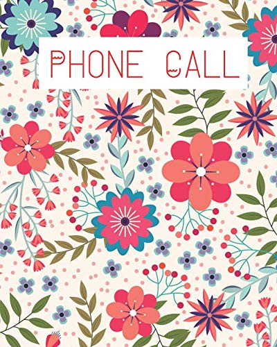 Phone Call: Telephone Memo Log (Voice Message Log BooK) (Call Log)