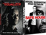 Denzel Delivering The Goods: Equalizer & Safe House 2 Feature Film DVD Bundle