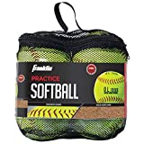 Franklin Sports Practice Softballs, Official Size and Weight, 4 Pack