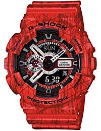 Watch Casio G-shock Ga-110sl-4aer Men´s Red
