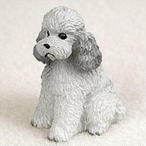 Conversation Concepts Poodle Gray W/Sport Cut Tiny One Figurine