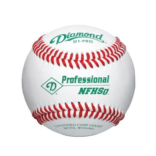 D1-Pro NFHS Baseball - Set of 12 by Diamond