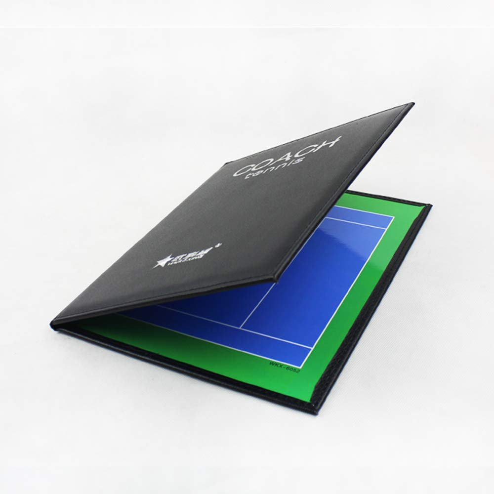 Facile da Trasportare E Riutilizzare Riscrivibile IYBY Bordo di Allenatore Pieghevole per Lavagna Magnetica per Tennis