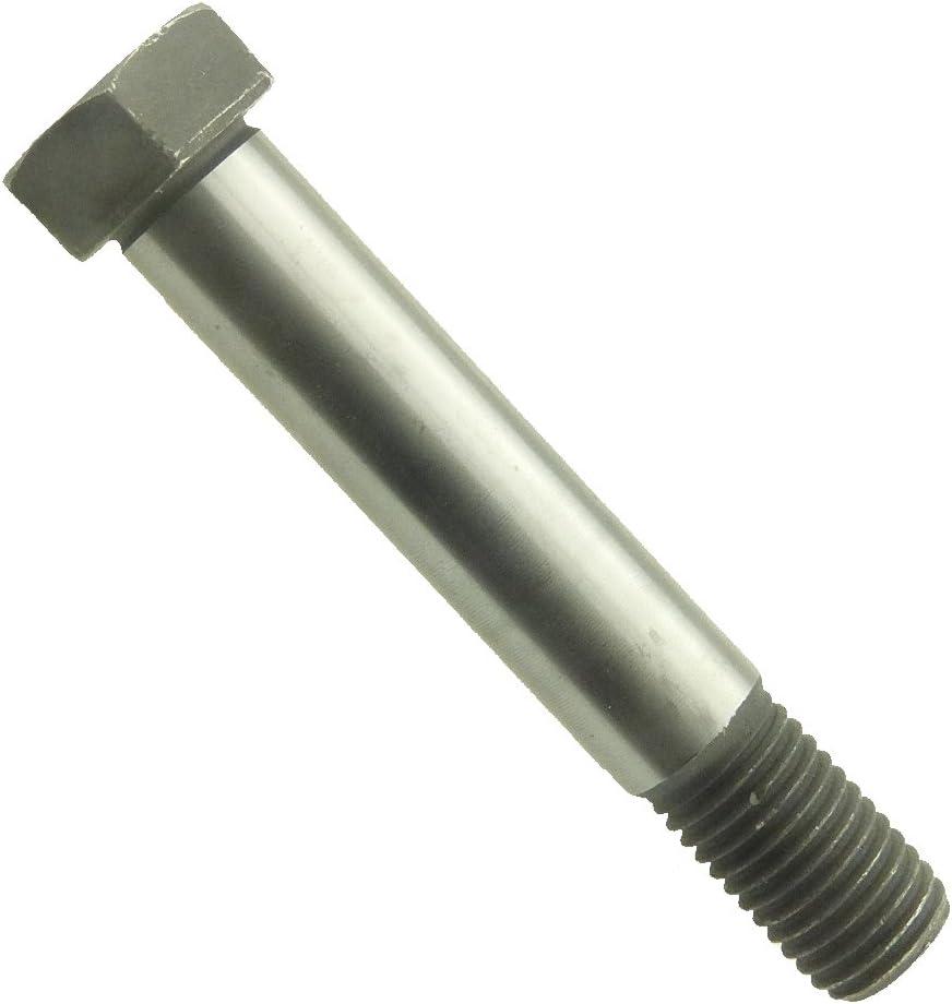 M8x25-25 Stk Sechskant-Passschraube m.langem Gewindezapfen DIN 609 10.9 Stahl bl
