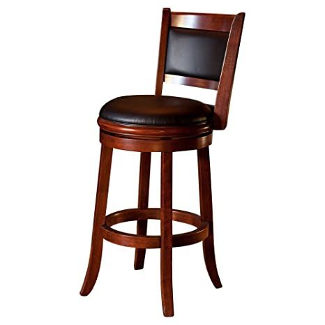 Wondrous Amazon Com Bistro Counter Bar Stools 29 Inch Cherry Machost Co Dining Chair Design Ideas Machostcouk