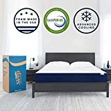 Sleep Innovations Marley 10-inch Cooling Gel Memory Foam Mattress Bed in a Box