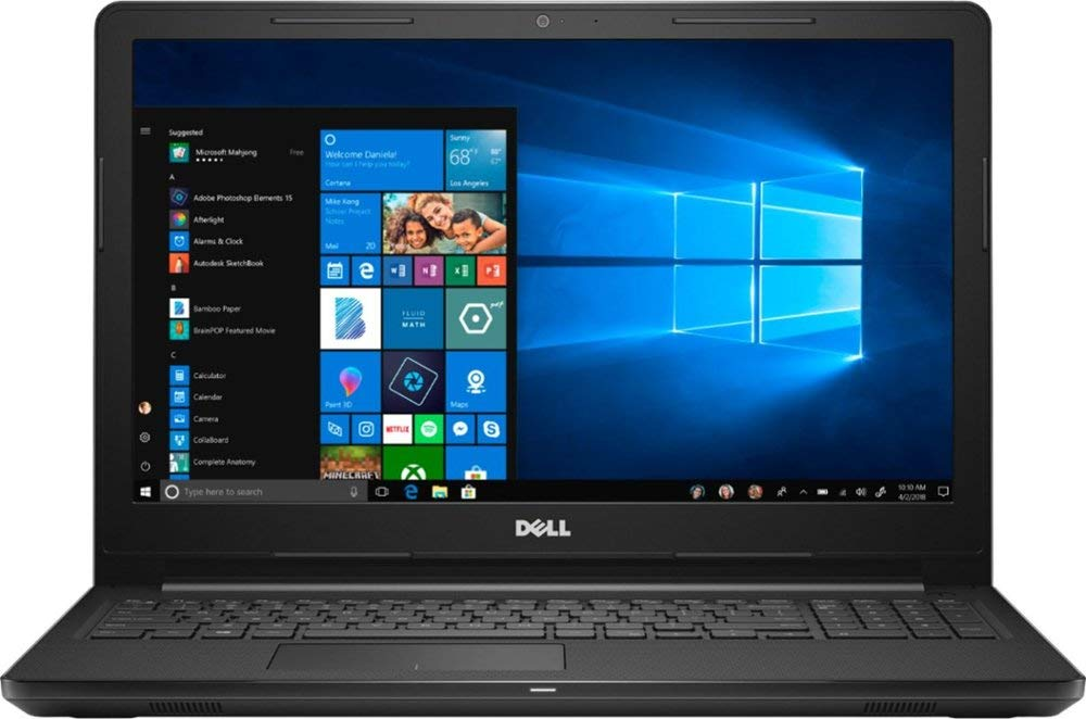 Dell Inspiron 15.6'' Touch Screen Intel Core i3 128GB Solid State Drive Laptop