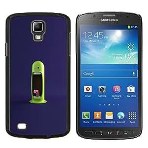 """Be-Star Único Patrón Plástico Duro Fundas Cover Cubre Hard Case Cover Para Samsung i9295 Galaxy S4 Active / i537 (NOT S4) ( Monstruo verde divertido"""" )"""