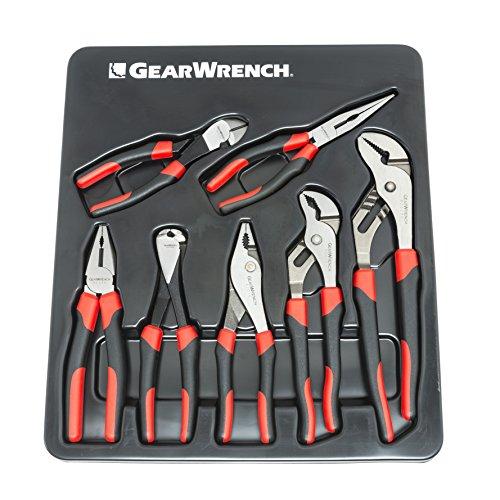 GearWrench 82108 7 Piece Standard Pliers Master set