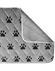 Gorilla Grip Original Reusable Pad and Bed Mat for Dogs, 40x26, Absorbs 4 Cups, Oeko Tex Certified, Washable, Waterproof, Puppy Crate Training, Furniture Protection Pet Pads, Fits 42 Inch Dog Crates